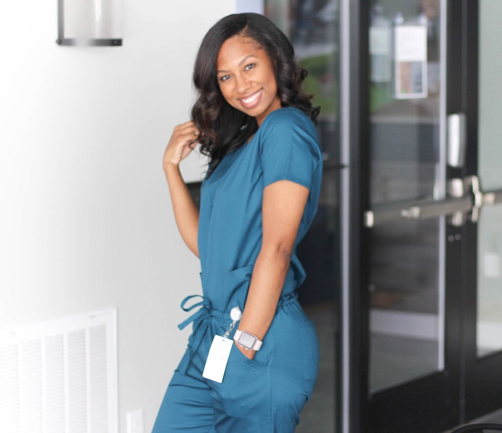 teal scrubs 2