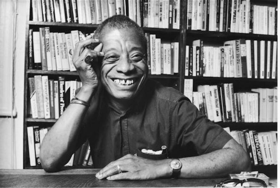 Author James Baldwin